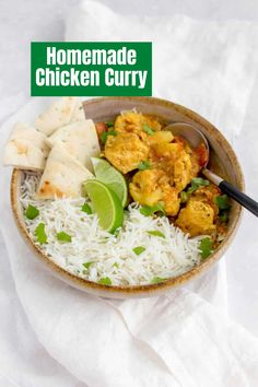 Easily make this chicken curry in the instant pot and serve it for any weeknight dinner Quick Family Meals, Curry Dishes, Easy Chicken Curry, Kid Friendly Dinner, Pressure Cooking, Instant Pot, Eat, Healthy, Super Easy