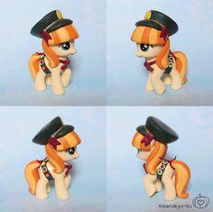 MLP Custom Toy Girl Scout Pony by AmandaSuCrafts on Etsy