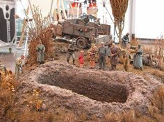 Execution 1/35 Scale Model Diorama