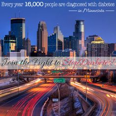 16,000 people in #Minnesota are diagnosed with #Diabetes EVERY YEAR!#StopDiabetes at diabetes.org/minnesota!
