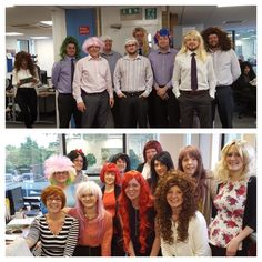 Staff at Tunstall are #GettingWiggy with it to raise money for Children's Cancer charity CLIC Sargent