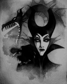 Maleficent art