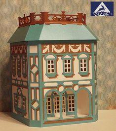 3D svg  House lantern renaissance style by zigtac on Etsy