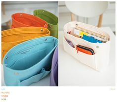 purse organizer - I soooo need this to switch bags easily