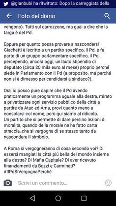 il popolo del blog,notizie,attualità,opinioni , fatti : #IlPdSiVergognaPerché #Renzi