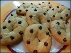 Biscotti al caffè Musetti con gocce di cioccolato