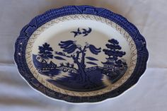 """Buy Royal Doulton - The Majestic Collection"""" - Real Old Willow Platefor R225.00"""