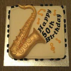 saxophone cakes   Saxophone cake by: icedimages