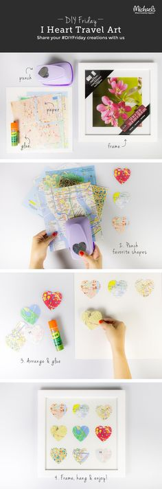 Some fun Travel Memorabilia Crafts by some very creative people!