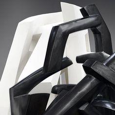 """Parvine Curie """"Sculptures blanches - Sculptures noires"""" Galerie Martel-Greiner Début : 16/10/2013 Fin : 16/11/2013  71 boulevard raspail, Paris 6° et 6 rue de Beaune, Paris 7°"""