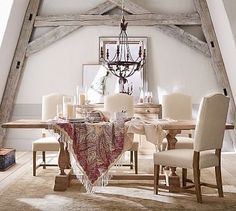 Parkmore Extending Dining Table #potterybarn