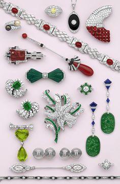 Art Deco Jewelry  --  Nelson Rarities, Inc., Portland, Maine