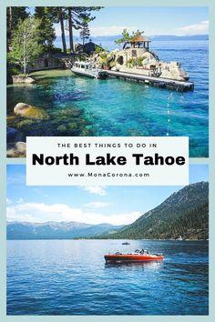 Lake Tahoe Travel Guide / Lake Tahoe Itinerary - Summer / Fall/Spring. North Lake Tahoe, South Lake Tahoe, Where to stay in Lake Tahoe, Best things to do in Lake Tahoe, Lake Tahoe Hotels, Emerald Bay, Sand Harbor, Lake Tahoe vacation, Tahoe Kayaking, Truckee, Incline Village, Secret Cove, Lake Tahoe hikes, King's Beach, Zephyr Cove, Clear Kayak, tahoe picture ideas, tahoe paddle boarding, tahoe restaurants, where to eat in lake tahoe, carson valley, reno tahoe, what to doin lake tahoe… North Lake Tahoe Hotels, Lake Tahoe Restaurants, Usa Travel Guide, Travel Usa, Luxury Travel, Travel Tips, Travel Destinations, Lake Tahoe Summer, Lake Tahoe Vacation