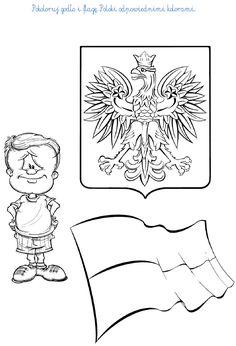 Ilustracje, źródło: Internet.    Polska - jest naszą Ojczyzną.     STOLICA:     Pierwszą stolicą Polski było Gniez... School Projects, Projects To Try, Social Platform, My Passion, Kids And Parenting, Diy And Crafts, How To Plan, Education, 1 Maja
