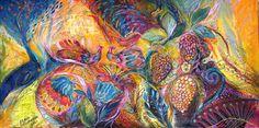 "Saatchi Art Artist Elena Kotliarker; Painting, ""The Flowers and Fruits"" #art"