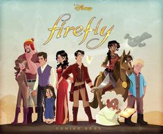 Firefly Art of Stephen Byrne