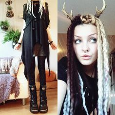 Psychara / Althemy / Art / Fashion / Alternative / Forest Witch / Blogger