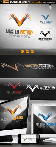 Master Victory  #GraphicRiver         ::: MASTER victory:::  	 minimalist and modern logo. Simple work and adjusted to suit your needs.  	 • CMYK  	 • Fully editable EPS , Ai, Svg and Pdf  	 • Easy to Change Color and Text  	 • Used Free Font (Link Included Main Download)  	 • 3 colors logo  	 • Gradient version  	 if you buy and like it, please vote…     Created: 13February13 GraphicsFilesIncluded: TransparentPNG #JPGImage #VectorEPS #AIIllustrator Layered: No MinimumAdobeCSVersion: CS2…