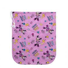 Sacchetto asilo 'Minnie' Smart, per Bavaglini/Asciugamani e cambio abiti. Sacchetto con chiusura con cordoncino infilato nell'imboccatura.È possibile scegliere la variante con lacci a zaino