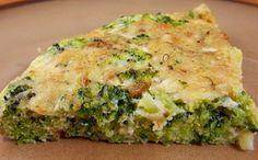Receita de torta de frango com brócolis para a fase cruzeiro PL dukan.