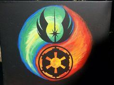 Star Wars Yin Yang, kudos to original artist, great tattoo concept Star Wars Love, Star War 3, Star Wars Art, Star Trek, Wallpaper Cars, Star Wars Wallpaper, Yin Yang, Star Wars Tattoo, Star Wars Poster