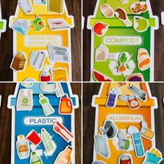 Earth Day Trash Sorting Practical Life Activity - Earth Day Trash Sorting Practical Life Activity – The Little Montessori House Earth Day Trash Sor - Recycling Games, Recycling Activities For Kids, Fun Activities For Preschoolers, Earth Day Activities, Sorting Activities, Kindergarten Activities, Learning Activities, Crafts For Kids, Creative Curriculum Preschool