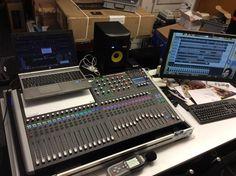 Studio Mixing, Mastering und Recording mit dem Soundcraft SI Performer 3. Ein tolles Teil!