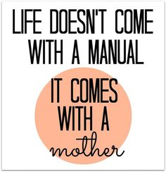 Mother's Day Quote Humor for DIY Greeting Cards