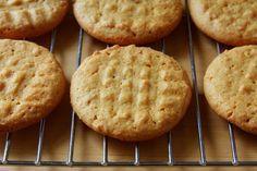 Galletas de mantequilla de cacahuate sin harina
