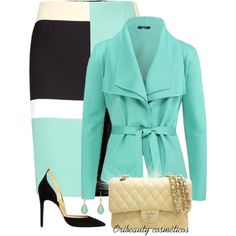 """Love the combo, but without the jewelry...""""Sem Título"""" by oribeauty-cosmeticos on Polyvore"""