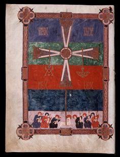 Beato de Liébana: códice de Fernando I y Dña. Sancha —  Cruz victoriosa de Oviedo- (12)
