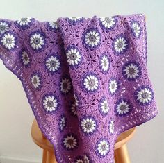 Crochet baby blanket patternDaisy by BlageCrochetDesign on Etsy