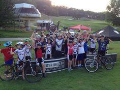 A ton of fun at our weekly CX/MTB series! Mtb, Mountain Biking