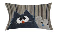 catnmoose hand made cushion