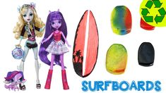 How to Make Doll Surfboards - Easy Doll Crafts