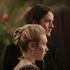 New Still of César Domboy as Fergus Fraser and Lauren Lyle as Marsali Jane Fraser - Outlander_Starz Season 3 Voyager - Episode 312 The Bakra - December 3rd, 2017