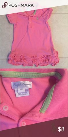 Pink Polo Ralph Lauren Girls 18m Dress Pink Polo Ralph Lauren Girls 18m Dress - great condition Ralph Lauren Dresses