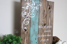 Living life to your fullest potential is everyones goal. This reclaimed wood inspirational quote sign has been hand crafted, hand painted and finished using the highest quality of materials so it can be enjoyed for years to come. From my paint brush to your home, I hope this sign is a
