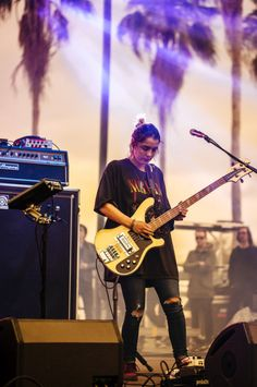 Warpaint at Gasparilla Music Festival, Tampa,...
