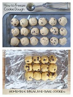 Several Methods for Freezing Cookie Dough | 5DollarDinners.com