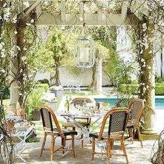 Garden with Pergola