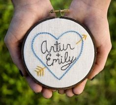 What a charming idea for a wedding present or engagement gift.