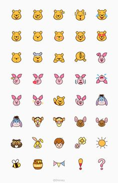 We love deze schattige doodeling tekeningetjes van Winnie the Pooh! Cute Disney Drawings, Mini Drawings, Cute Easy Drawings, Kawaii Drawings, Winnie The Pooh Drawing, Cute Winnie The Pooh, Winnie The Pooh Tattoos, Disney Doodles, Kawaii Disney