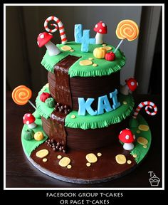 Chocolate Factory Cake by Little Cherry Cake Company, via Flickr