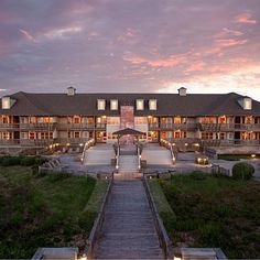 The Sanderling Resort in Duck, North Carolina; coastalliving.com