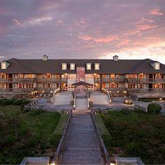 The Sanderling Resort in Duck, North Carolina; coastal living.com