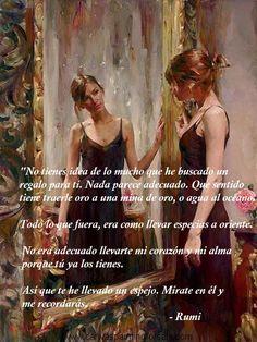 Regalo, espejo. Rumi