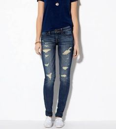 Sabrina Carpenter - Maya Hart See American Eagle Outfitters Dark Destroy Jegging on Pradux. Our sexiest, skinniest fit. Looks like a jean, feels like a legging. Shop the Jegging from American Eagle Outfitters. Check out the entire American Eagle Outfitters website to find the best items to pair with the Jegging.