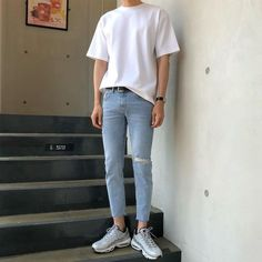 Fashion 2019 New Moda Style - fashion Korean Fashion Men, Korean Street Fashion, Kpop Fashion, Mens Fashion, Fashion Outfits, Aesthetic Fashion, Aesthetic Clothes, Urban Fashion, Retro Outfits