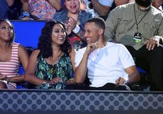 Pin for Later: Ayesha and Stephen Curry Keep the Sweet Appearances Coming at the Kids' Choice Sports Awards